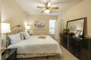 Two Bedroom Apartments for Rent in Northwest Houston, TX - Model Bedroom (2)
